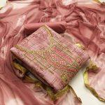 Top Bottom Dupatta Printed Dress Material 5