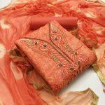 Top Bottom Dupatta Printed Dress Material 6